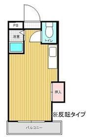 プレアール唐原Ⅱ・301号室の間取り