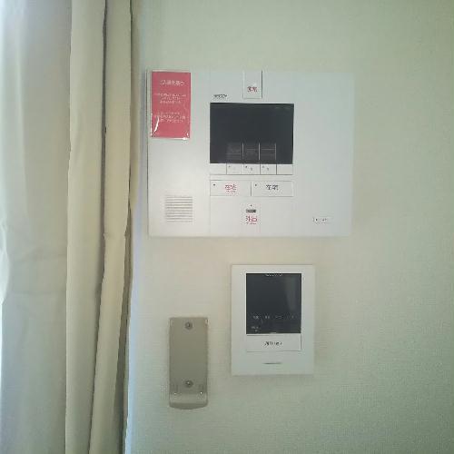 レオパレスアサヒ アズール 107号室のセキュリティ
