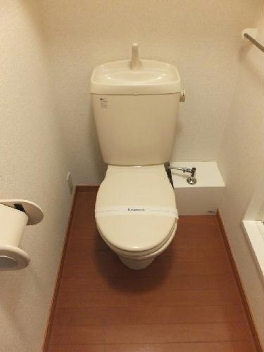 レオパレスアサヒ アズール 302号室のトイレ