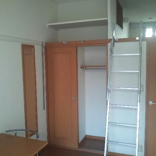 レオパレスアサヒ アズール 302号室の収納
