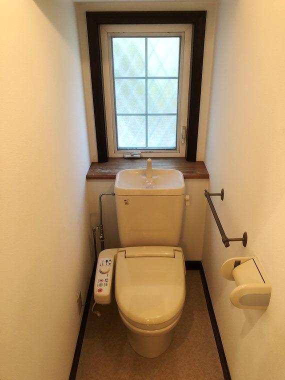 みたけ台戸建のトイレ
