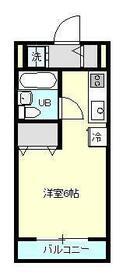 エステートピアASAKA・207号室の間取り