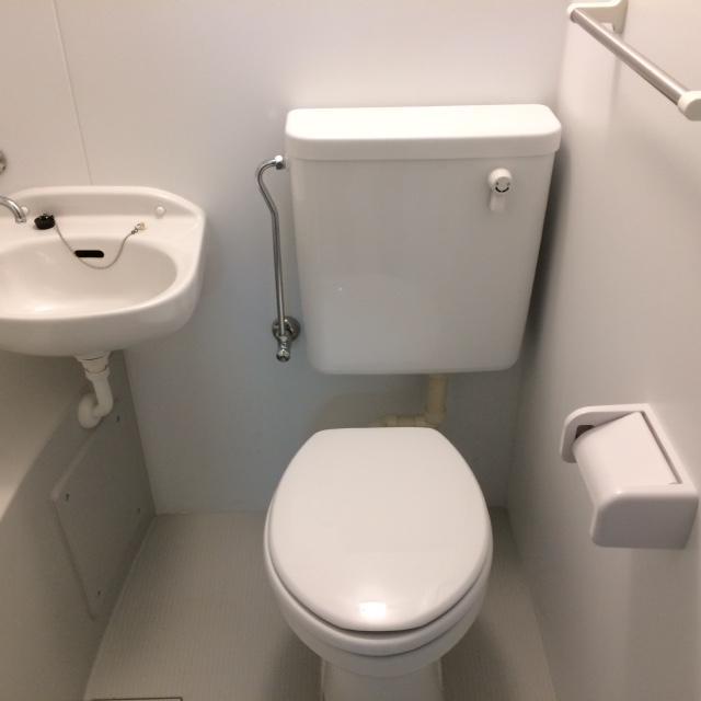シュラインK 102号室のトイレ