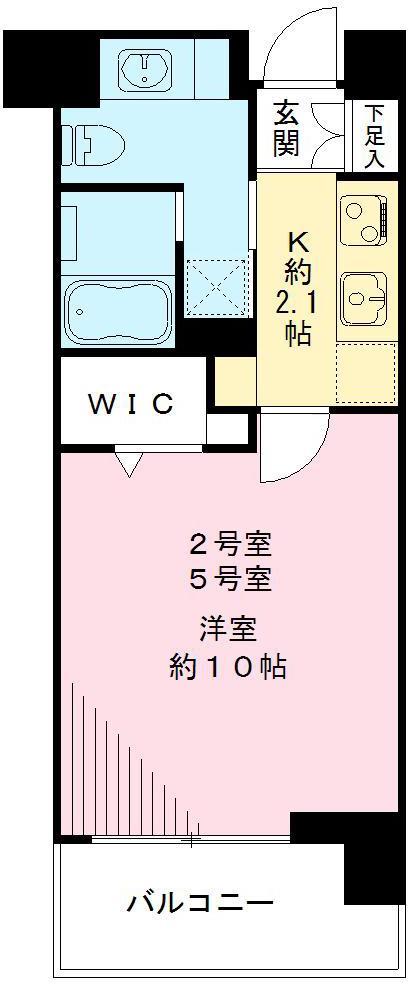 Win Bell仙川 ウィンベルセンガワ・302号室の間取り