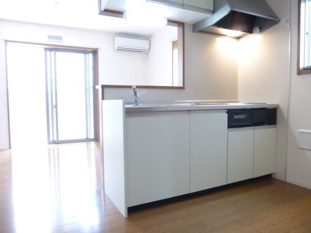 カサートM 101号室のキッチン
