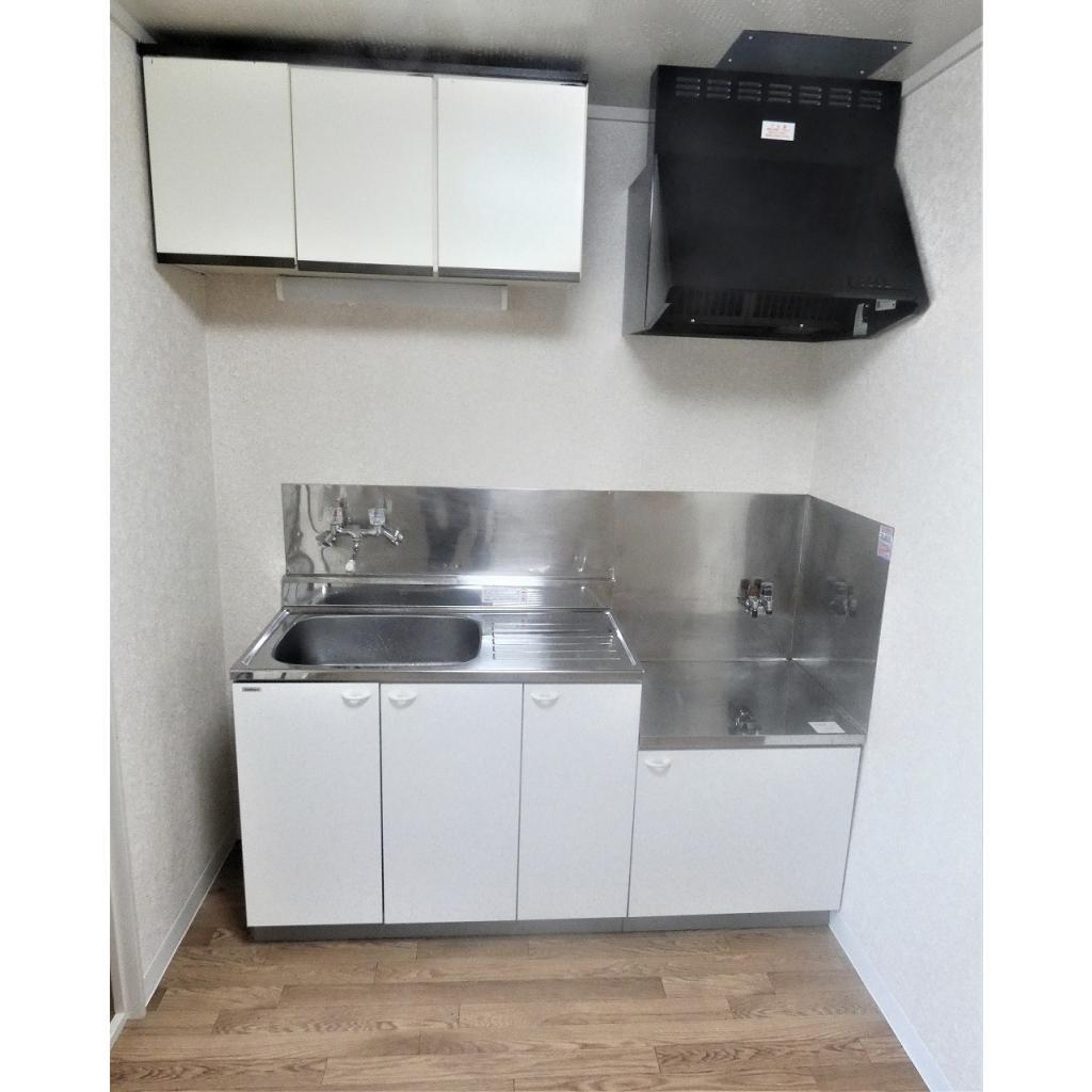石田コーポレイト 202号室のキッチン