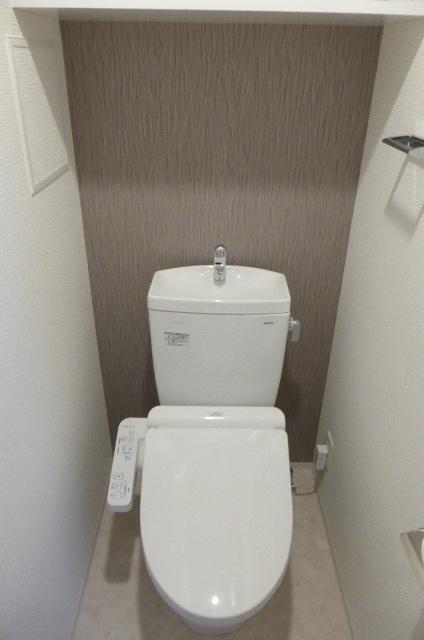 エスリード名城公園プライム 401号室のトイレ