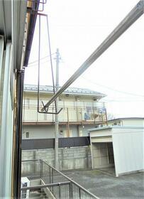 矢津コーポラス 202号室のバルコニー