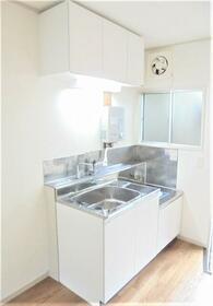 矢津コーポラス 202号室のキッチン