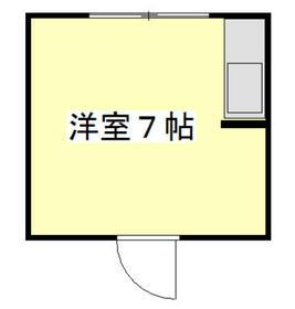 ステューディオ桜台・303号室の間取り
