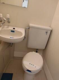 メゾン・ド・オヌール 0213号室のトイレ