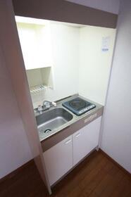 BELL HOUSE 203号室のキッチン