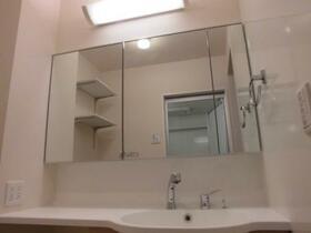 すみれそう 102号室の洗面所