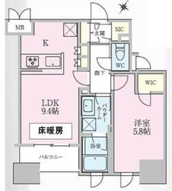 正金アパートメント入船・301号室の間取り