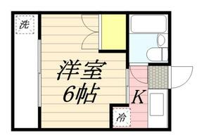 サンアベニュー師岡 0316号室の間取り