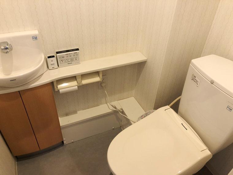 フォーサイトパークス 213号室のトイレ