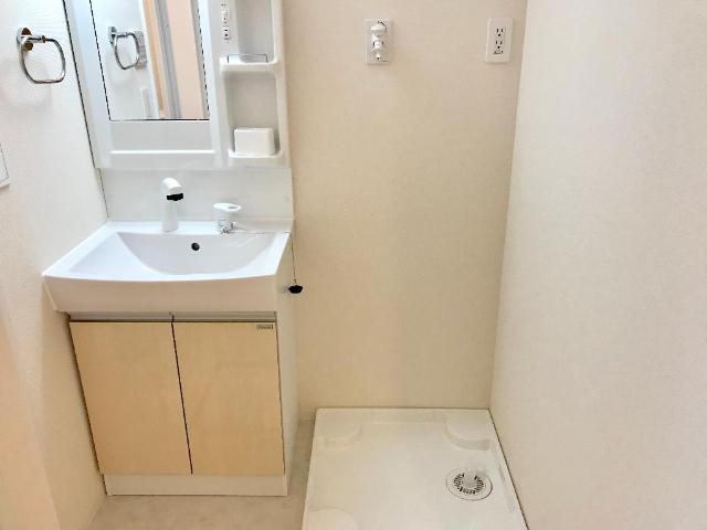(キャトルセゾン)安行吉岡新築アパート 101号室の洗面所