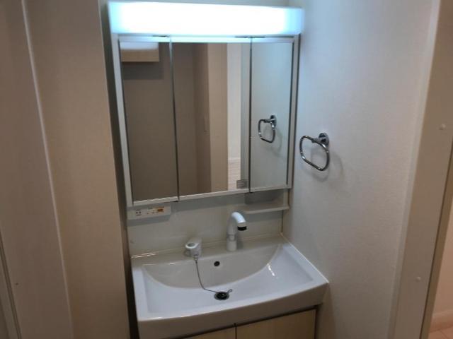 (キャトルセゾン)安行吉岡新築アパート 203号室の洗面所