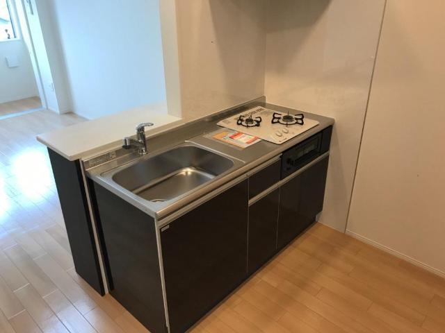 (キャトルセゾン)安行吉岡新築アパート 203号室のキッチン