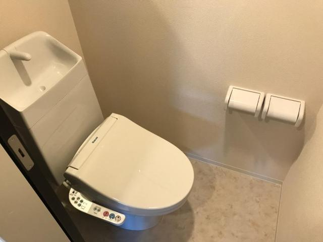 (キャトルセゾン)安行吉岡新築アパート 203号室のトイレ