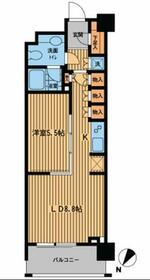 プライムアーバン日本橋横山町・402号室の間取り