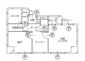 TS 5th Building・501号室の間取り