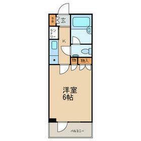 ファミールグランスイートTHE赤坂・216号室の間取り
