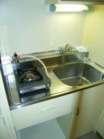 パシフィックパレス赤坂 204号室のキッチン