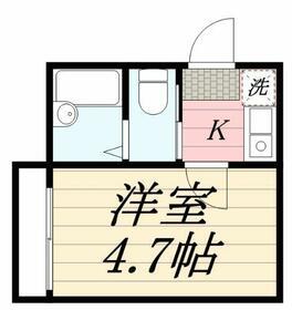 サンモール竹ノ塚・0101号室の間取り