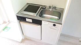 パレスWING 0203号室の玄関