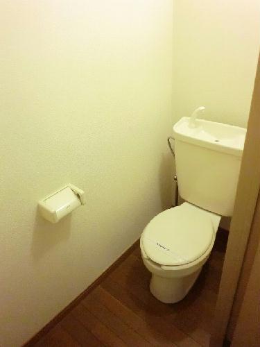 レオパレス深谷 106号室のトイレ