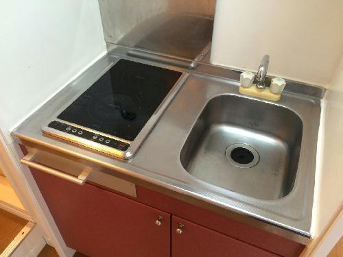 レオパレス梅田 104号室のキッチン