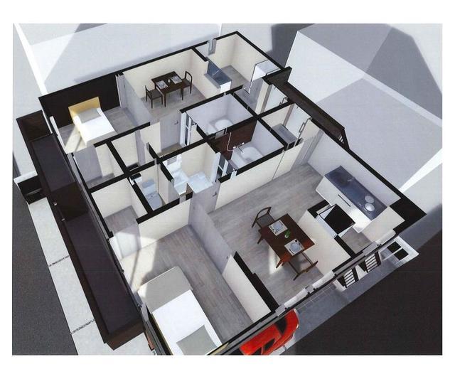 (仮称)豊島区長崎2丁目計画 201号室のリビング