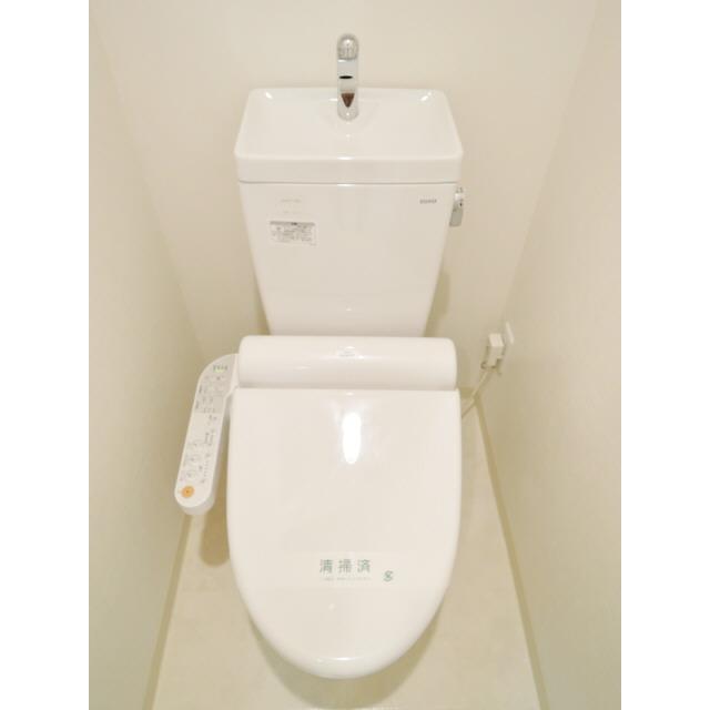 プレール・ドゥーク東陽町 307号室のトイレ