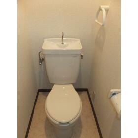 ラプラス坂下 0202号室のトイレ