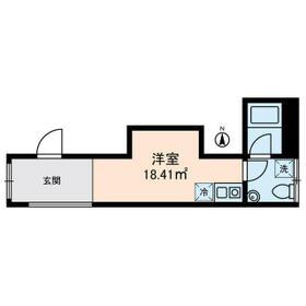 KOSTIC MINOWA・0201号室の間取り