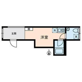 KOSTIC MINOWA・0302号室の間取り