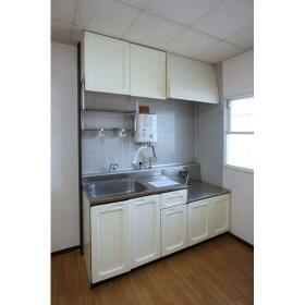 パールハイム 206号室のキッチン
