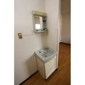 パールハイム 206号室の洗面所
