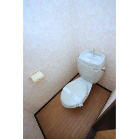 パールハイム 206号室のトイレ