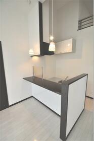 ジェンティーレ薬院I 201号室のキッチン