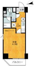 旗の台アパートメント・203号室の間取り