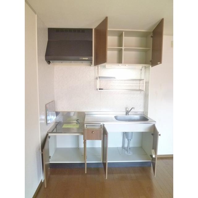 ステージモリ 103号室のキッチン
