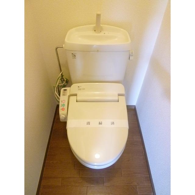 ステージモリ 103号室のトイレ