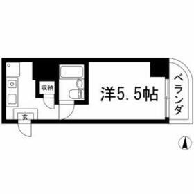 エッフェル鶴舞66・1006号室の間取り