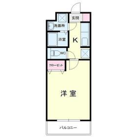 Mansion JULIAII(マンションジュリアツー)・301号室の間取り