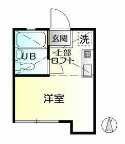 イーリスコート西横浜B・203号室の間取り