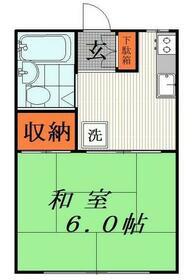 コーポ福田・202号室の間取り