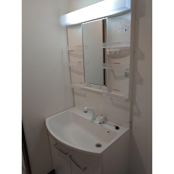 サンハウス木曽川 5F号室の洗面所