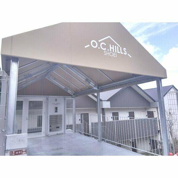 O.C.HILLS SHOEI・201号室の間取り